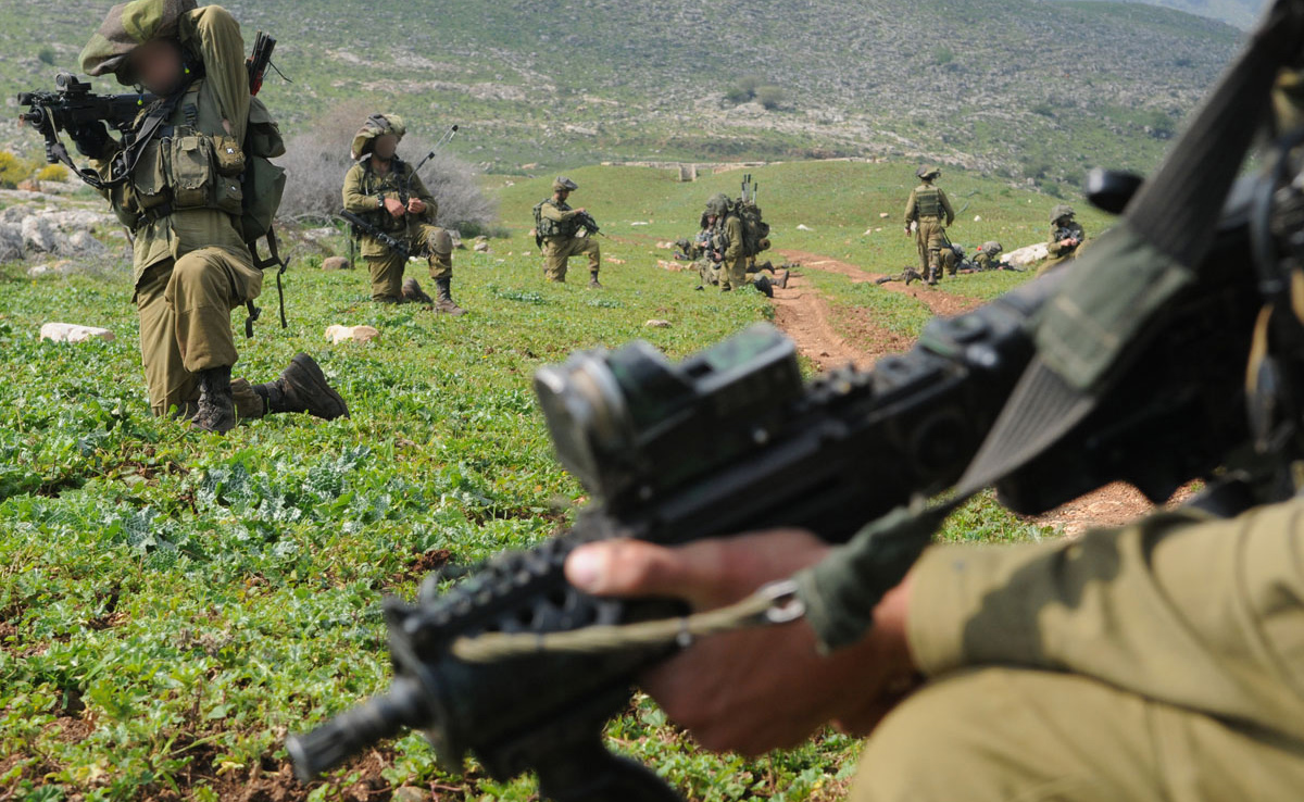 IDF soldiers with the X95 Micro Tavor